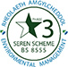 Tarian Inspection Services BS8555 Seren Scheme